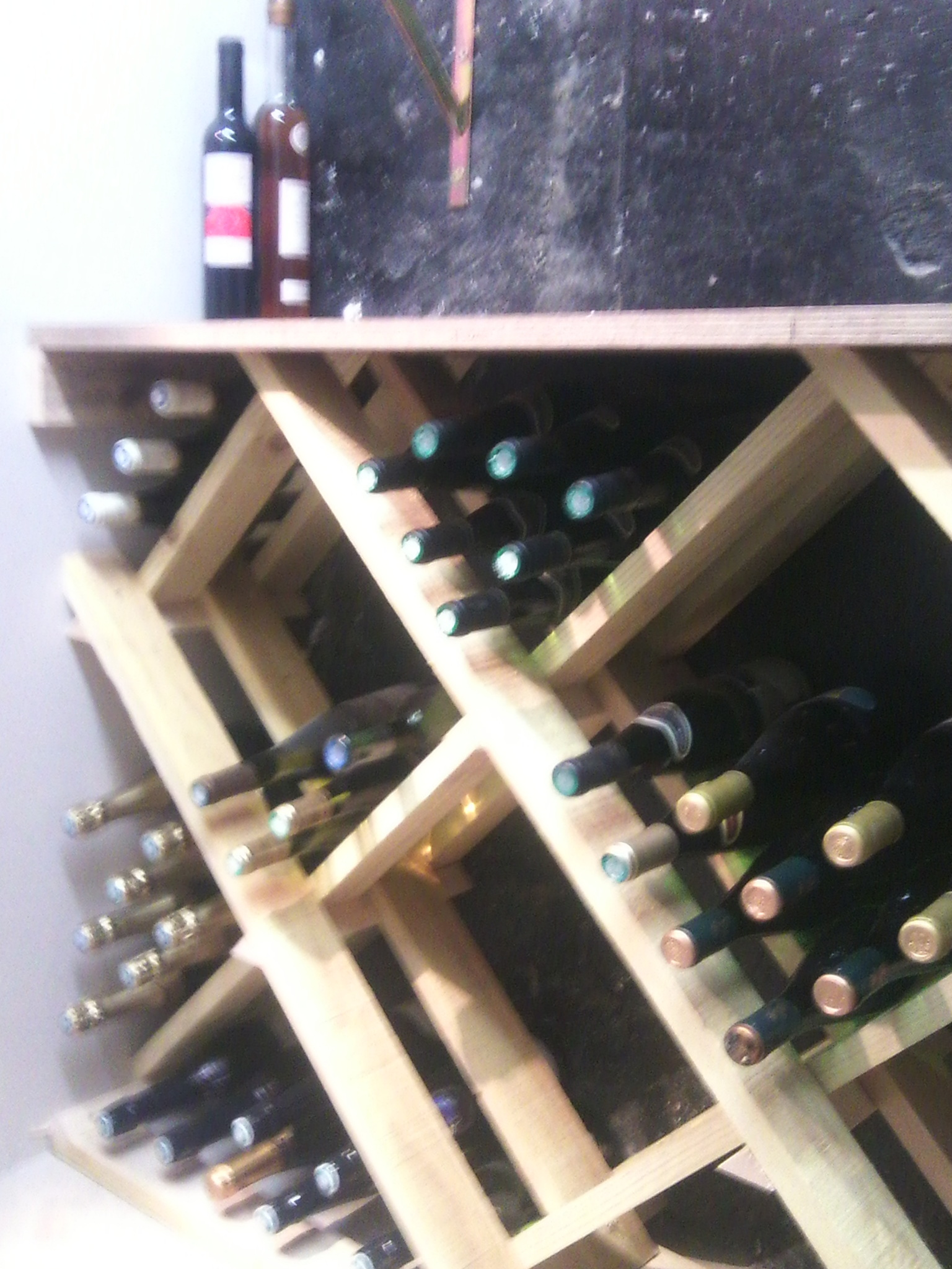 casier bouteille diy